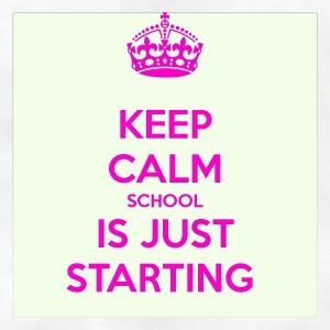 keep calm scool